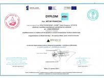 certyfikat Franczak