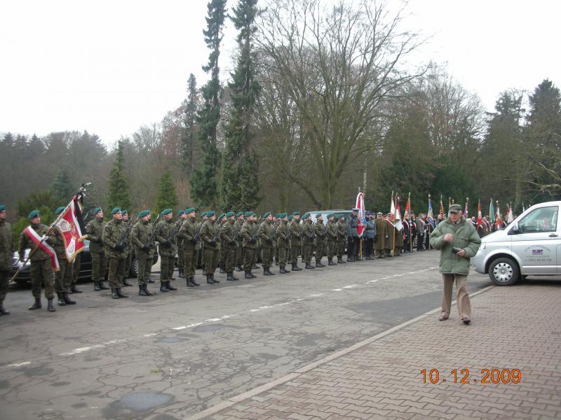 Pogrzeb żołnierzy BOA